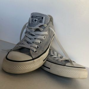 Converse All Star Grey Canvas Size 7 Sneaker